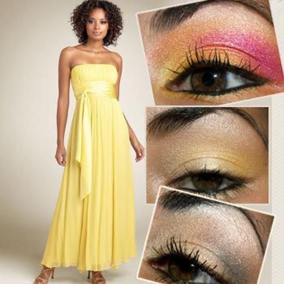 Eye Makeup For Yellow Dress Oye Times