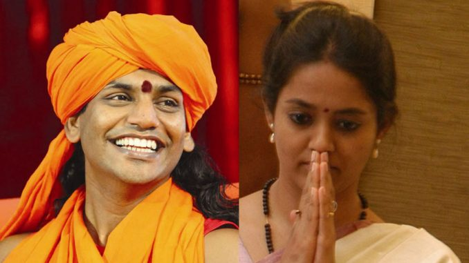 Swami Nithyananda and actress Ranjitha