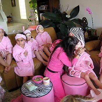 Kids Spa Party Ideas   Oye! Times