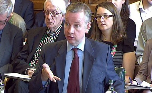 Education Secretary, Michael Gove