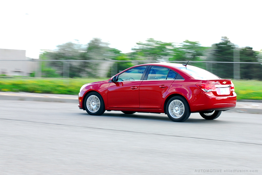 Cruze Eco quick shifting through the lower gears