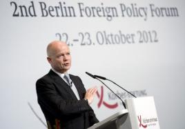 U.K. Foreign Minister, William Hague