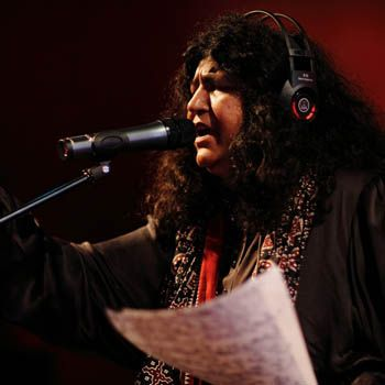 Pakistani Folk Singer Abida Parveen
