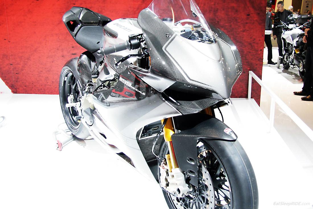 2013 Ducati Panigale carbon edition. Photo: EatSleepRIDE.com