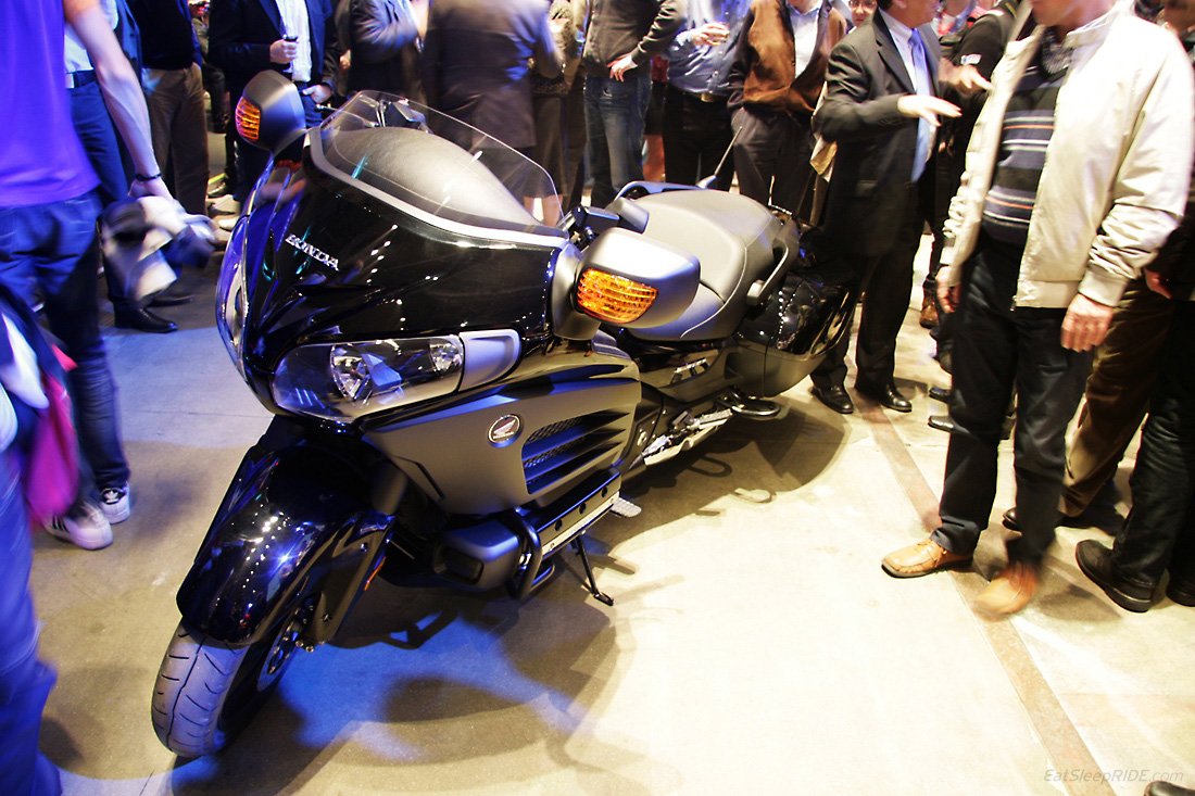 The all-new Honda Goldwing for 2013. Photo: EatSleepRIDE.com