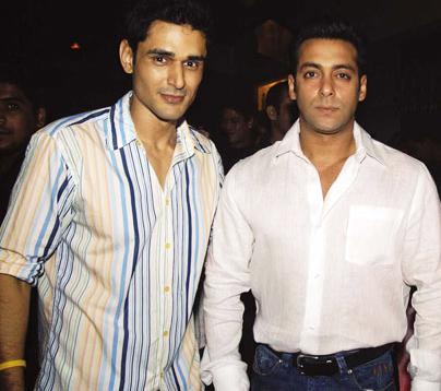 Salman Khan with Niketan Madhok