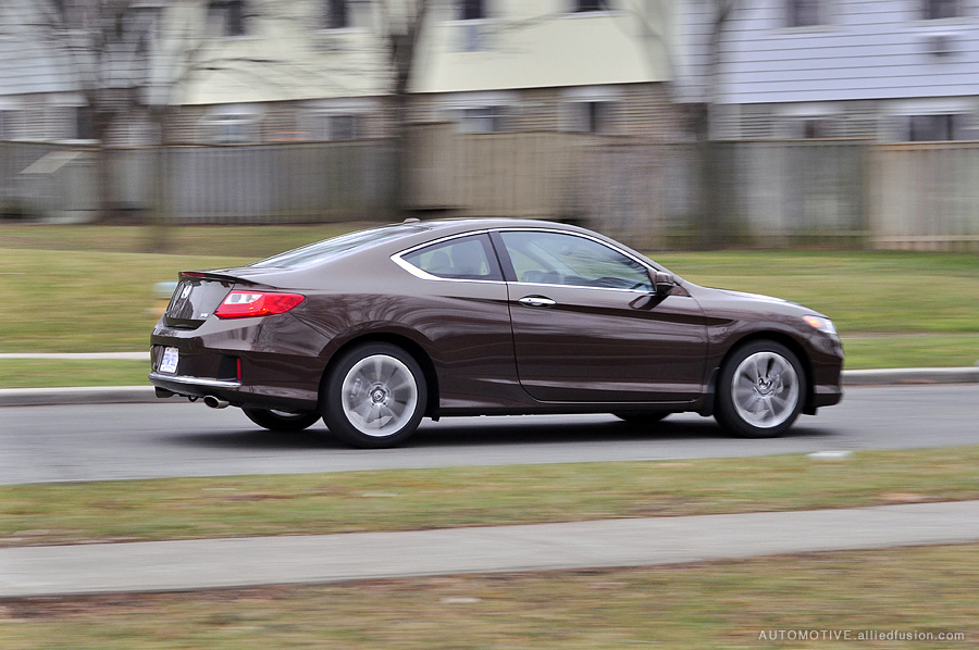 278hp and 252lb-ft of torque: the V6 equipped 2013 Honda Accord Coupe