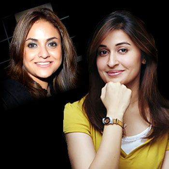 Nadia Khan and Shaista Lodhi