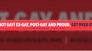 Anti-gay slogan