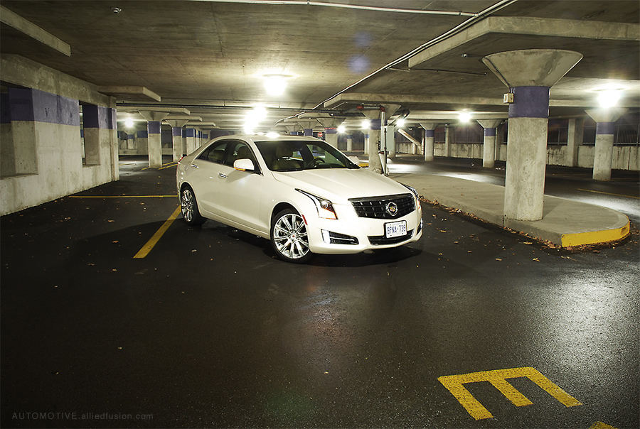 All-new for 2013 the ATS is the new baby Cadillac