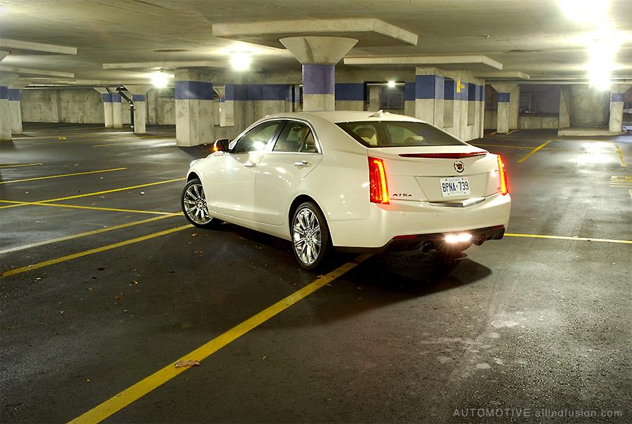 Looking good from any angle: the 2013 Cadillac ATS