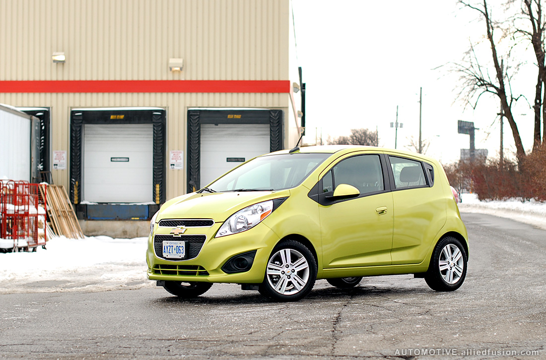 2013 Chevrolet Spark: GM's all new 4-seater, 5-door hatchback mini-car