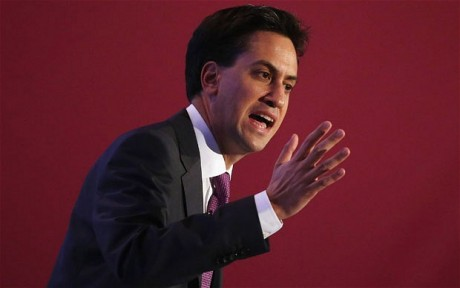 Labour leader, Ed Miliband