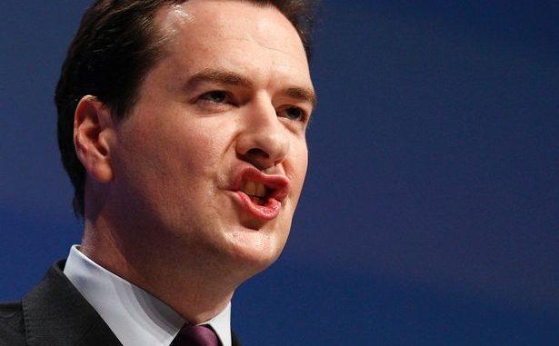 U.K. Chancellor George Osborne