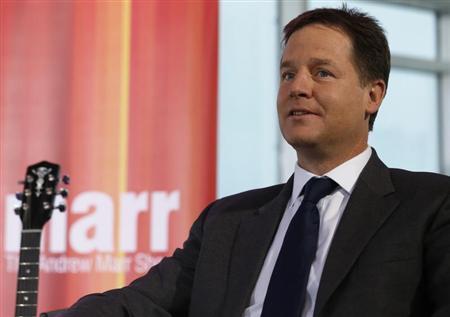 U.K. Deputy PM Nick Clegg