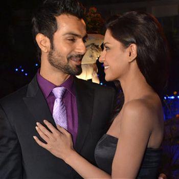 Ashmit Patel with Veena Malik