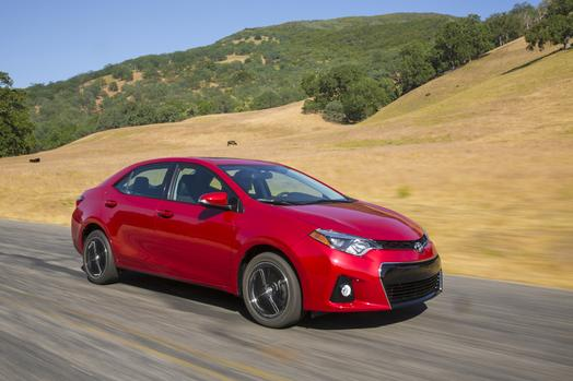 Completely redesigned 2014 Toyota Corolla