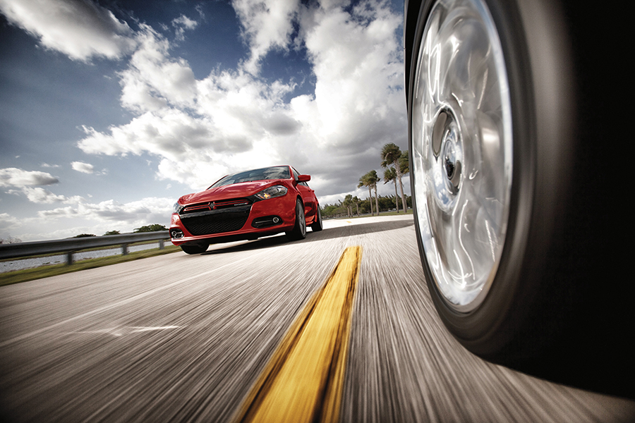 With three engine options mated to three possible transmissions, there's a Dodge Dart powerplant for every speed of driver