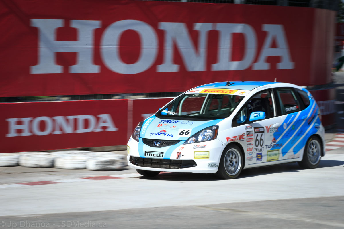 Even the Honda Fit makes a great touring car racer in the Pirelli World Championship
