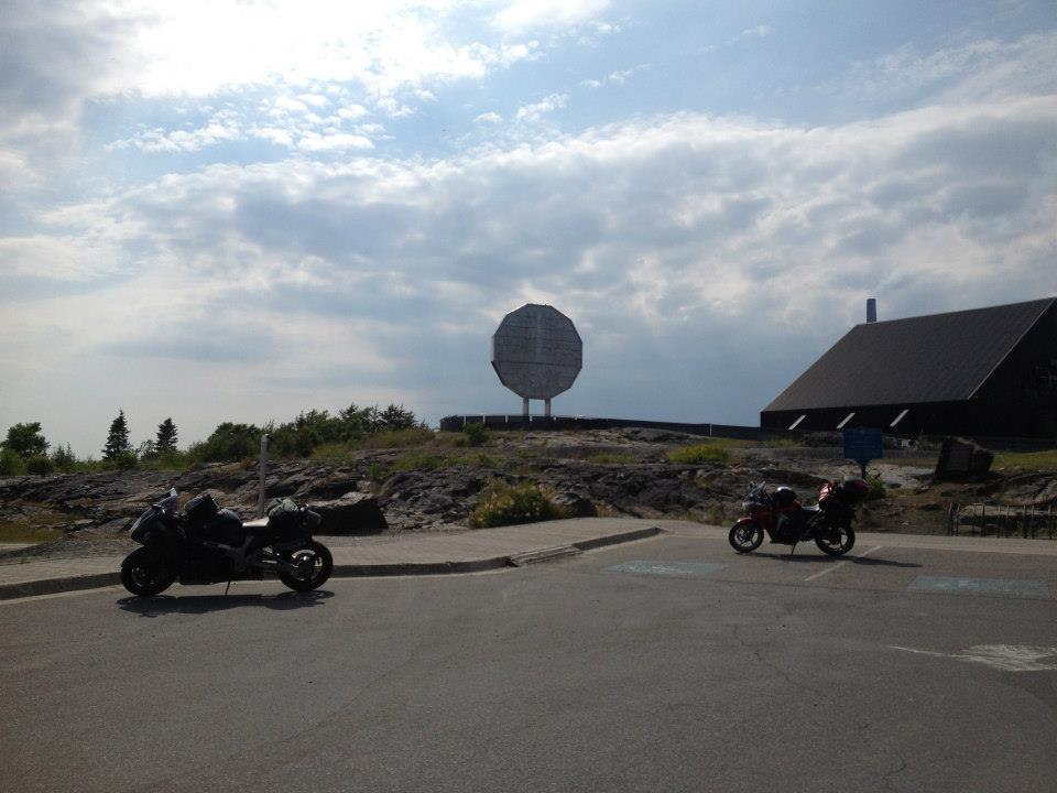 There's a real big nickel in Sudbury, bucket list item checked
