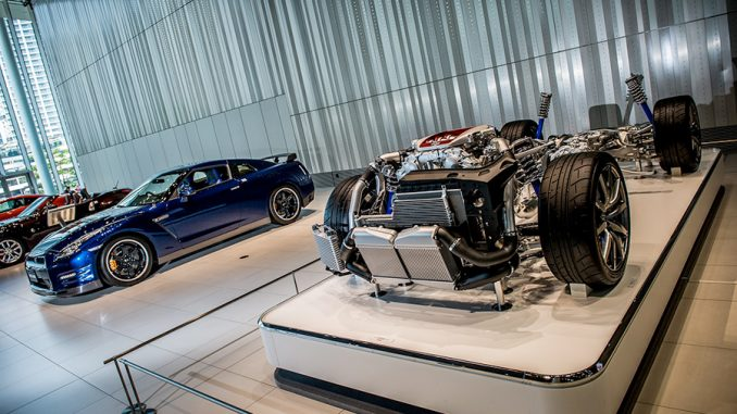 Nissan GT-R, the inner workings and final product side-by-side