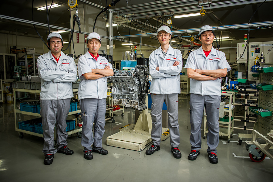 The takumi of Nissan's manufacturing plant in Yokohama
