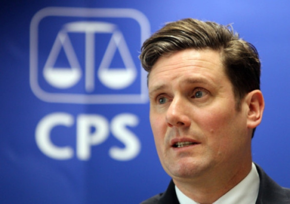 Britain's director of public prosecutions, Keir Starmer