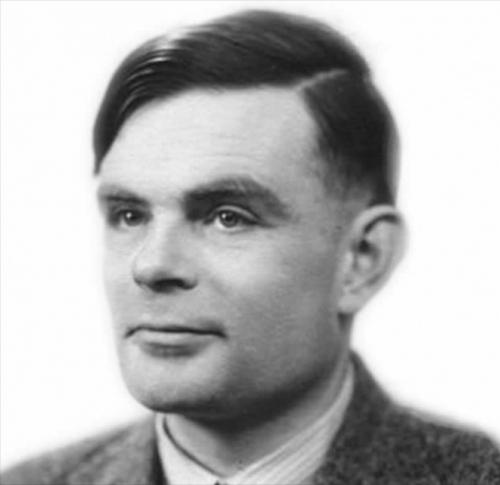British mathematician & computer pioneer Alan Turing