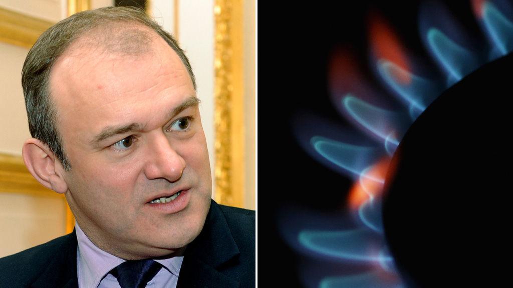 Energy and Climate Change Secretary, Ed Davey