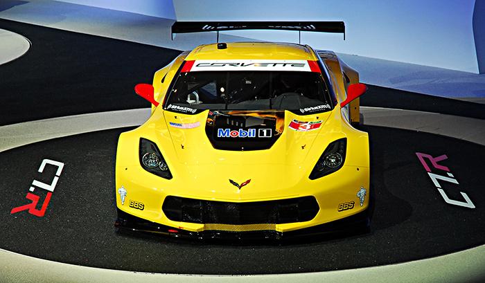 The C7.R racecar: a Corvette for the track. Image by Kanishka Sonnadara.