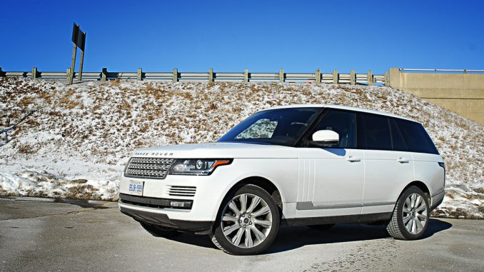 The fourth generation Range Rover is all-new for 2013