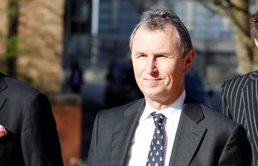Former deputy speaker of the House of Commons Nigel Evans