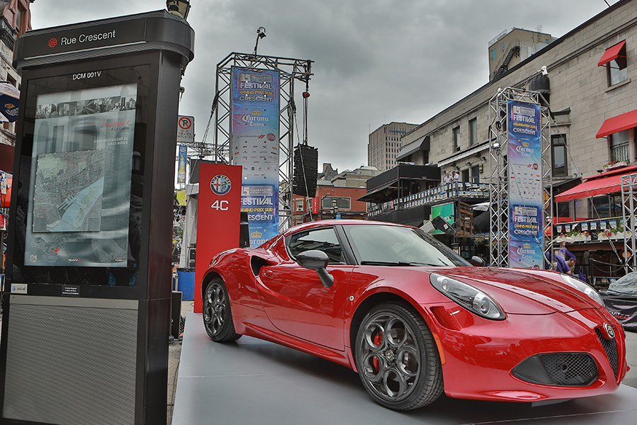 The 4C during its Canadian debut in Montreal