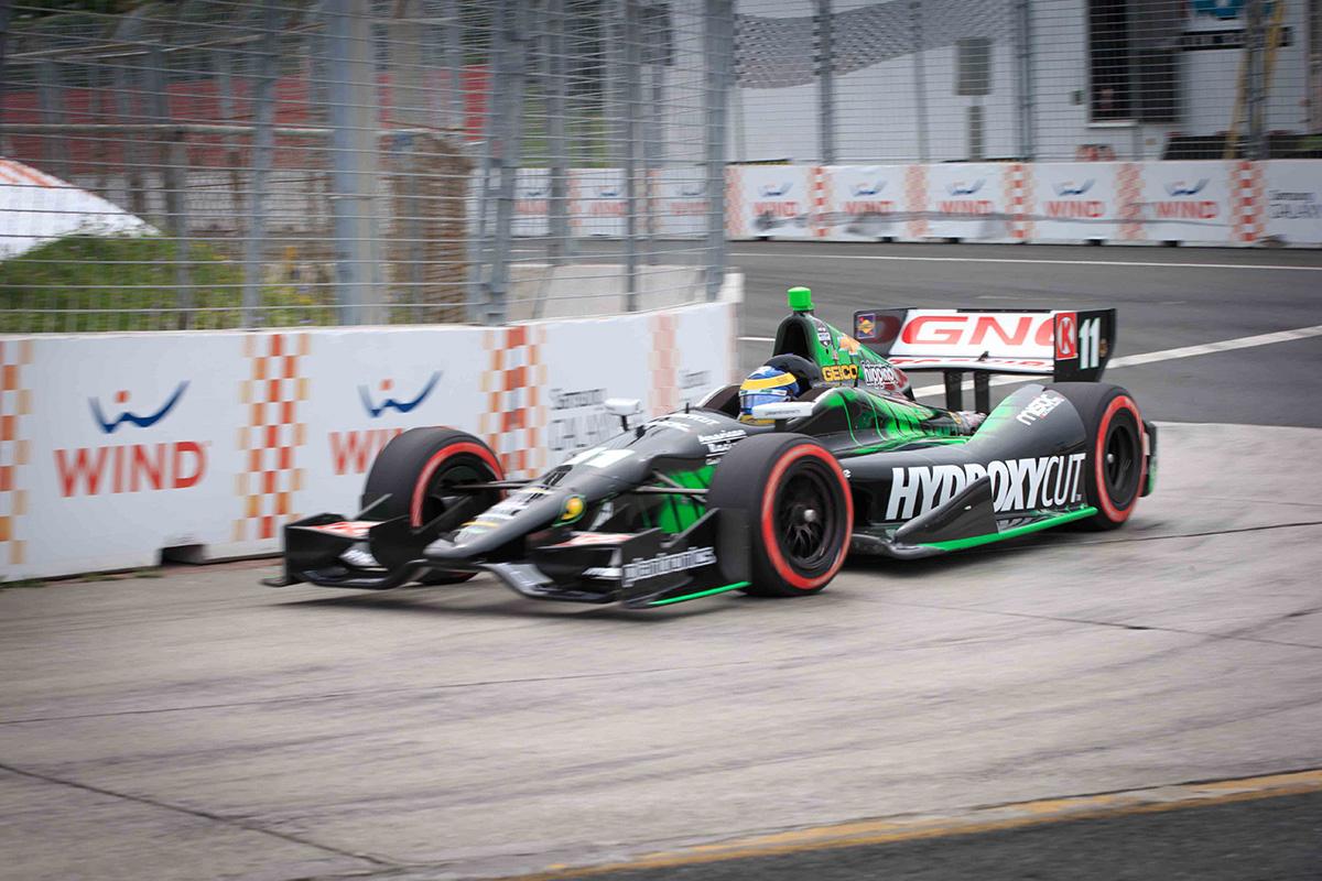 Honda Indy Toronto Race 1 winner, Sebastien Bourdais