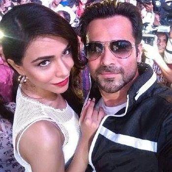 Humaima Malick and Emraan Hashmi