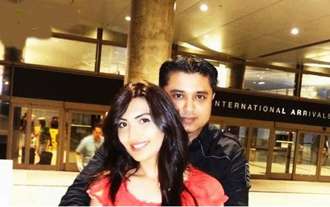 Maheen Rizvi with Fiance