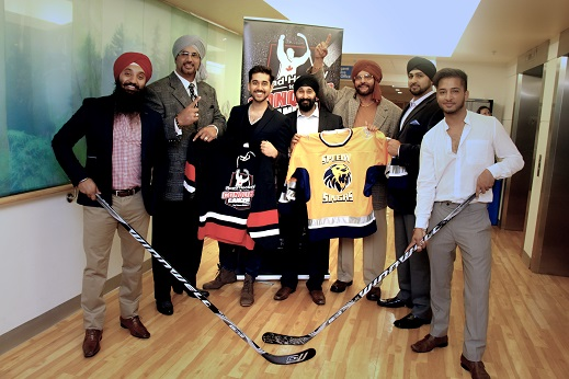 Members from the all-star team 'The Speedy Singhs' were taken on a tour of Princess Margaret Cancer Center and were amazed by the wonderful work carried out by the tireless team there. It is this dedication that has inspired the team to donate their time and effort to this amazing cause. From left to right: Dr. Parminder Singh, Tiger Jeet Singh Jr., Vinay Virmani, Bobby Sahni, Tiger Jeet Singh, Rob Hans, Rupan Bal.