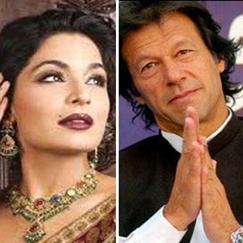 Imran Khan and Meera
