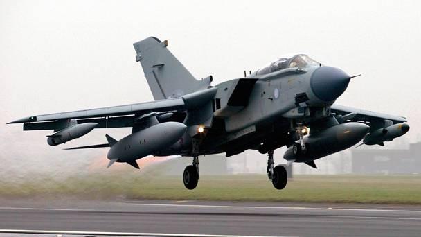RAF Tornado GR4 fighter-bomber