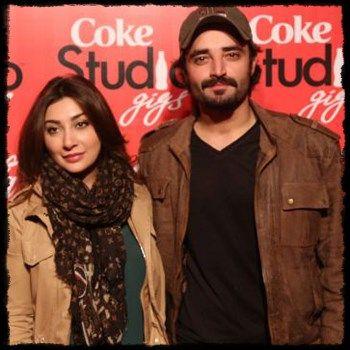 Hamza Ali Abbasi and Ayesha Khan