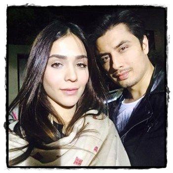 Humaima Malik and Ali Zafar