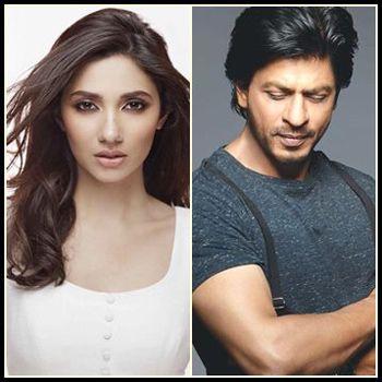 SRK and Mahira Khan