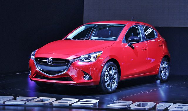2016 Mazda 2 unveiled at the Montreal International Auto Show