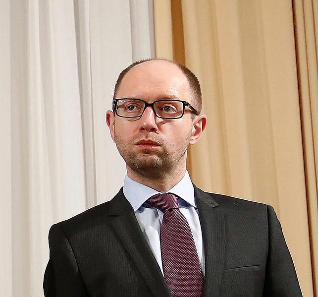 Prime Minister of Ukraine Arseniy Yatsenyuk