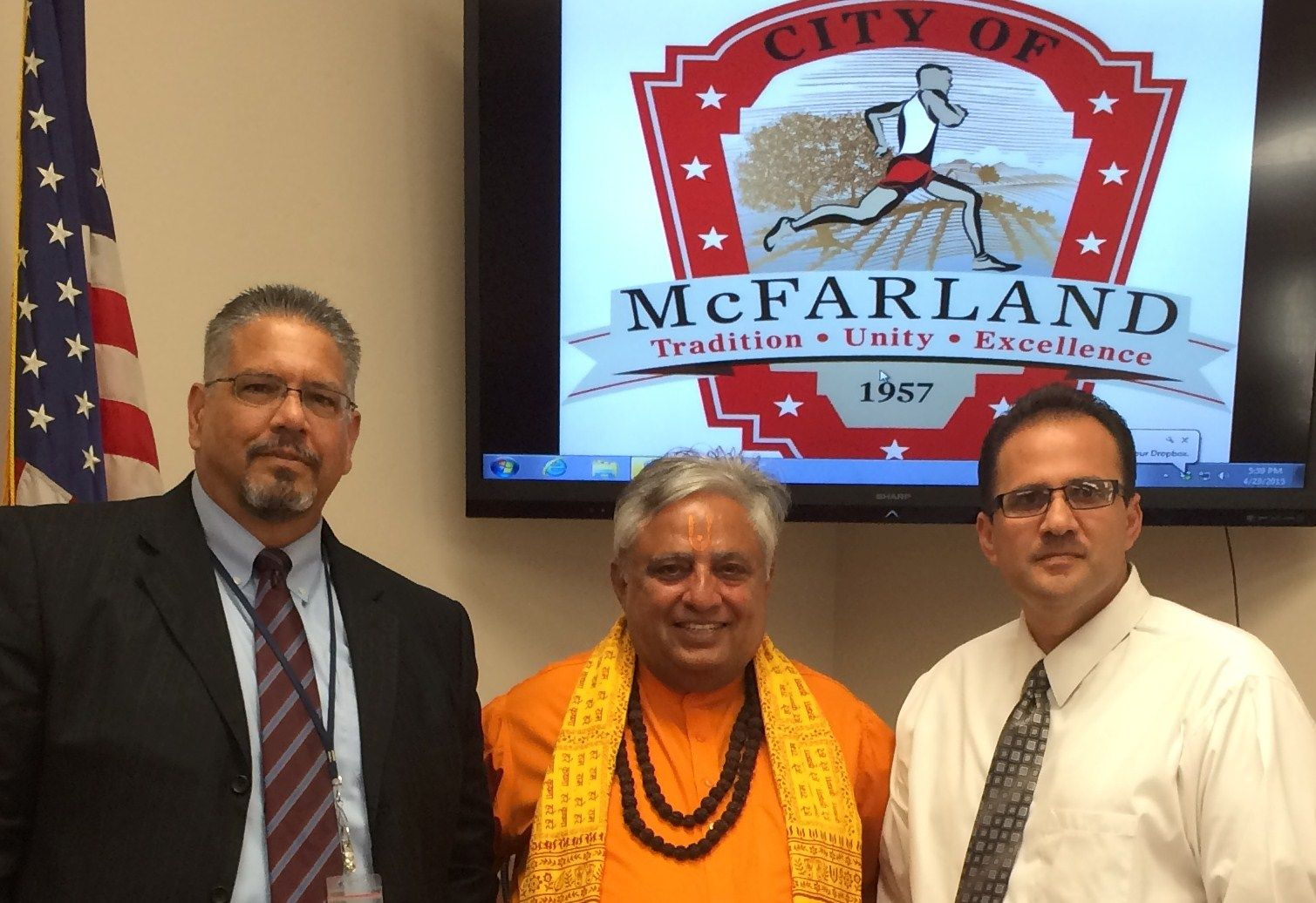 Just before McFarland CA  City Council invocation