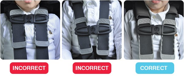 Positioning the chest clip correctly is easy, yet often overlooked