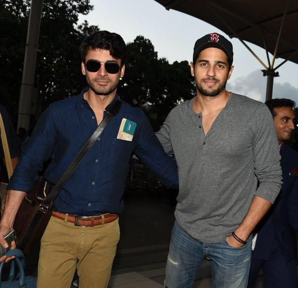Sidharth and Fawad