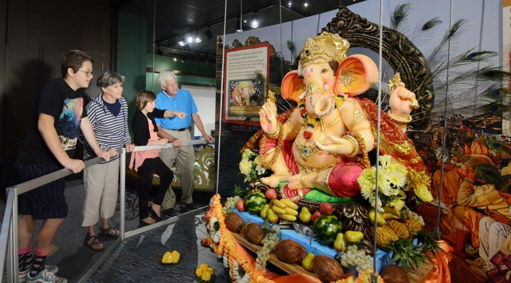 Ganesha display at The Childrens Museum of Indianapolis 2015
