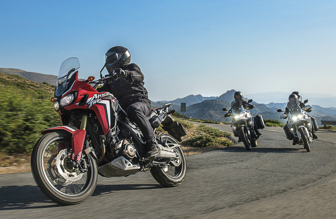 The new Africa Twin is as much a tourer as it is an adventure off-road bike.