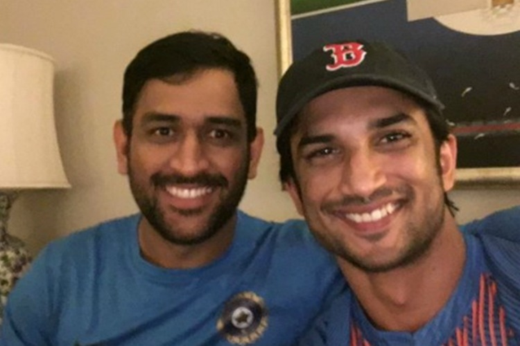 Dhoni and Suhant Singh